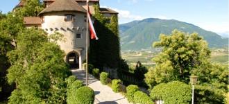 Sterne Schlösser Almen auf Schloss Schenna