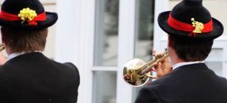 Musikkappelle aus Südtirol