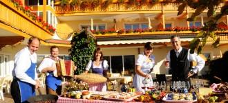 Herbsturlaub im Hotel Fürstenhof in Schenna