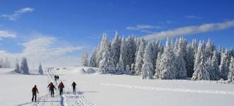Schneeschuhwandern im Winterurlaub in Südtirol