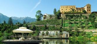 Meran: Frühling in den Gärten von Schloss Trauttmansdorff