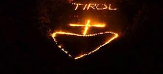 Herz Jesu Feuer in Südtirol