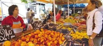 Markt in Meran